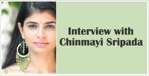 Chinmayi Sripada