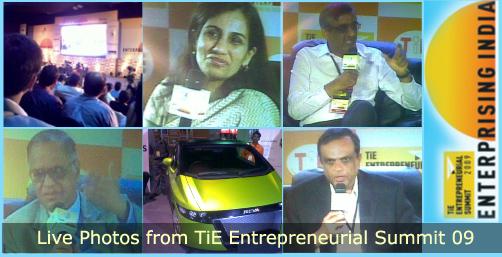 TiE Entrepreneurial Summit 09