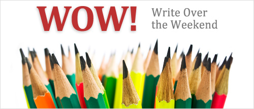 Write Over The Weekend (WOW), BlogAdda Initiative