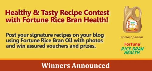Fortune Rice Bran Oil Winners announced