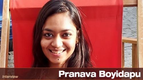 Interview With Pranava Boyidapu