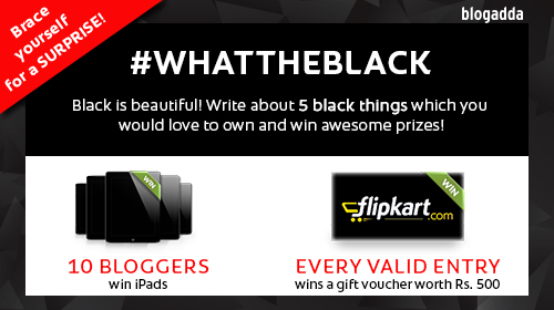 5 things that you love in Black!