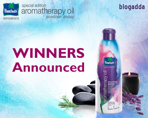 Winner Announcement - Parachute Advansed #SlowDownZindagi