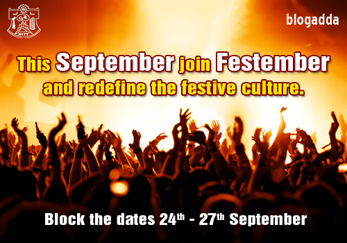 Festember event updates at BlogAdda