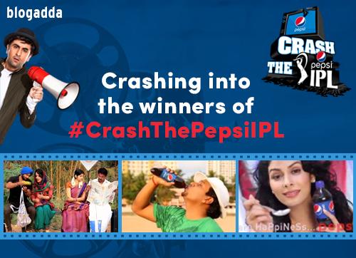 Winners crashthepepsiIPL