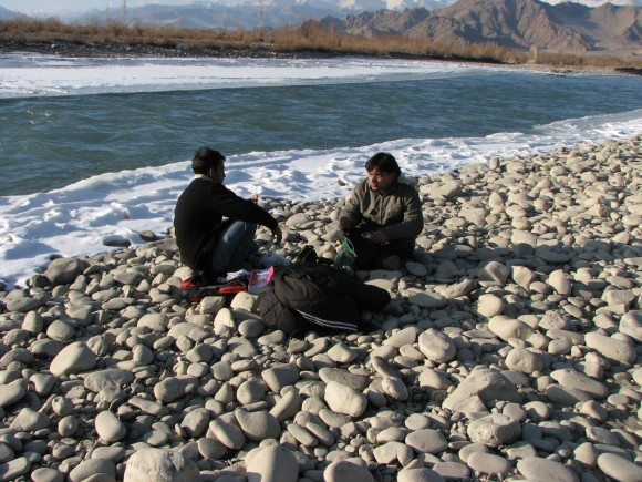 At Frozen Indus