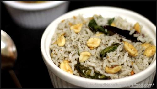 """Sesame Seed Rice | Elu Sadam by Vidya Srinivasan"""