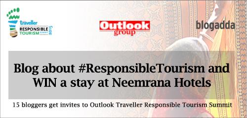Outlook Traveller #ResponsibleTourism