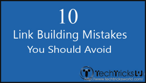 Link Building Mistakes - BlogAdda Collective