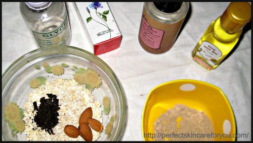 DIY Oats and Almond Cleanser - BlogAdda Collective