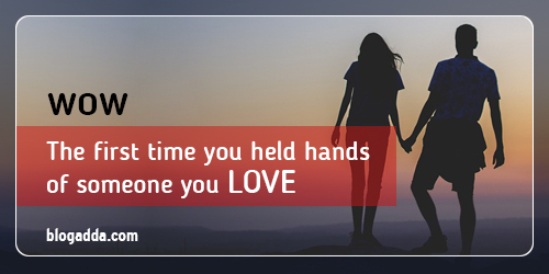 Holding Hands of Someone You Love