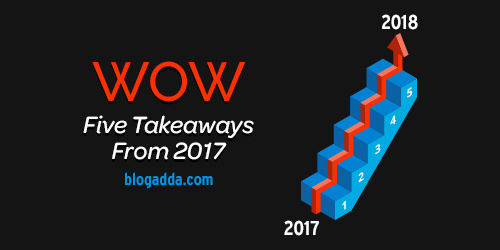 My Five Takeaways From 2017