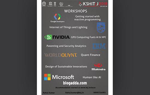 Kshitij - The Techno-Management Fest