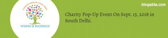 Charity Pop-Up Event in Delhi - WIshes and Blessings