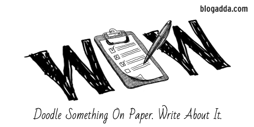 WOW: Doodle Something On Paper. Write About It.