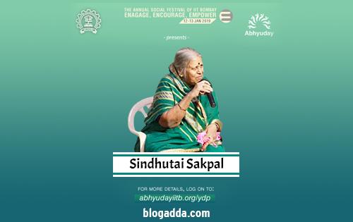 Sindhutai Sakpal - Abhyuday - IIT Bombay