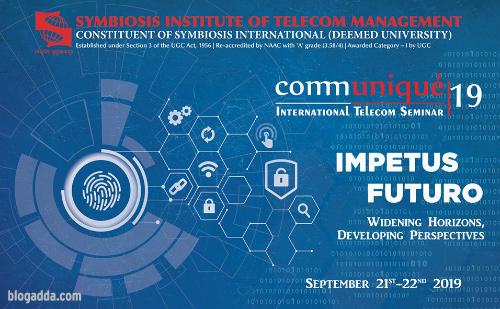 Communiqué 2019 - Symbiosis Institute of Telecom Management, Pune